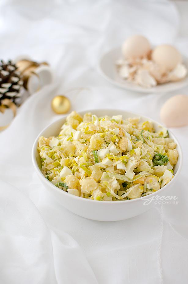 Salatka Z Selerem Konserwowym Ananasem I Porem Green Cookies